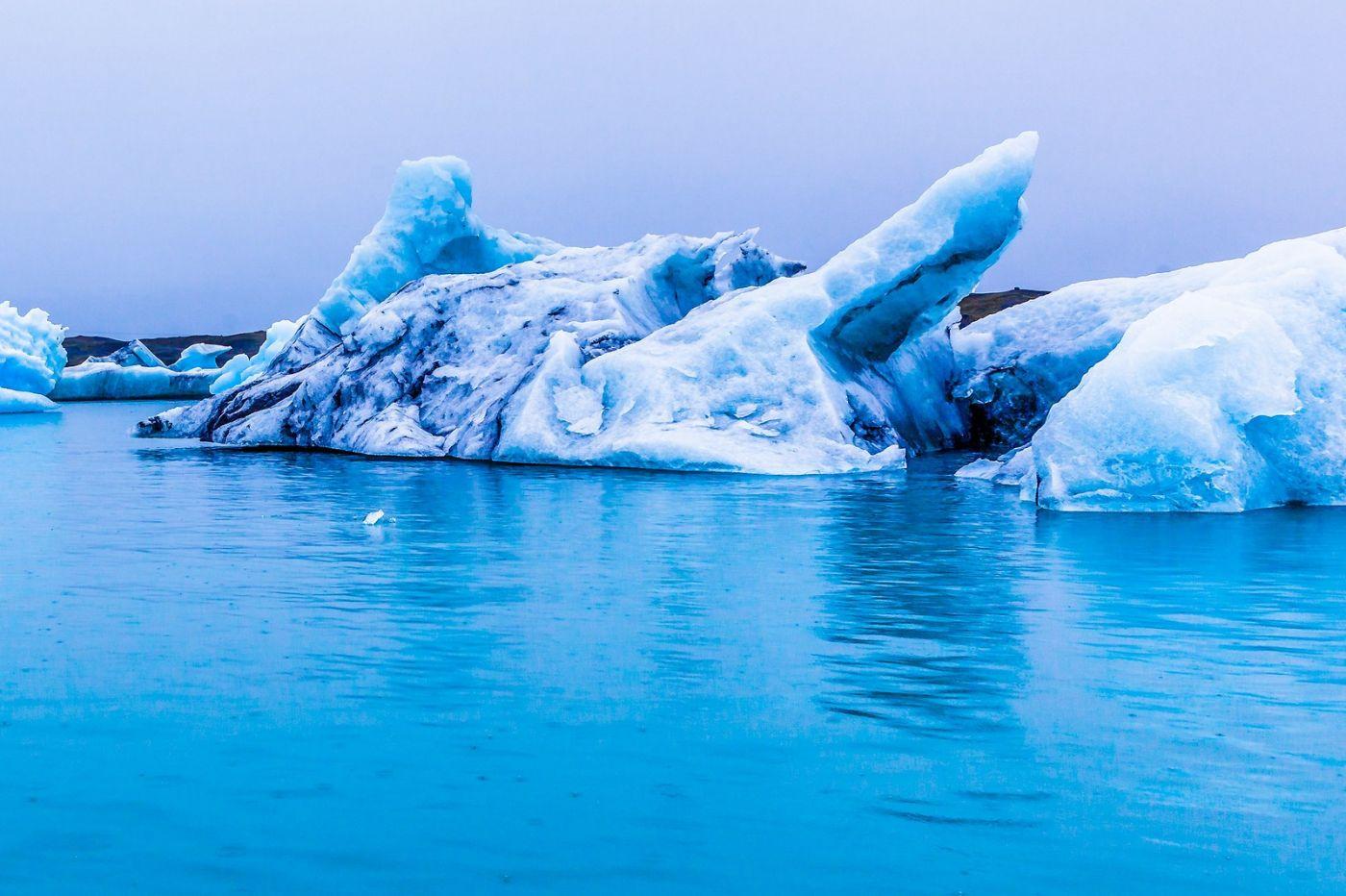 冰岛冰川泻湖(Glacier Lagoon),自然雕塑_图1-34