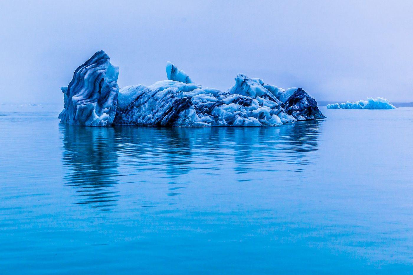 冰岛冰川泻湖(Glacier Lagoon),自然雕塑_图1-33