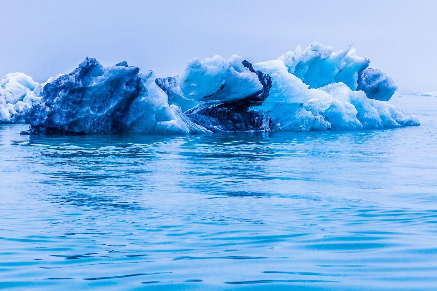 冰岛冰川泻湖(Glacier Lagoon),自然雕塑_图1-29