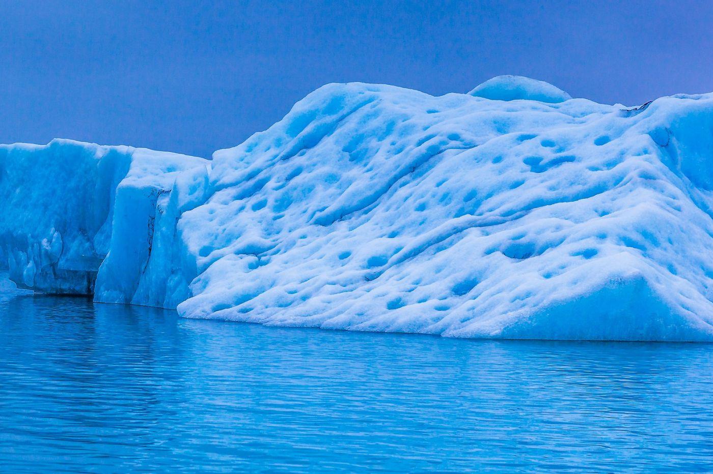 冰岛冰川泻湖(Glacier Lagoon),自然雕塑_图1-31
