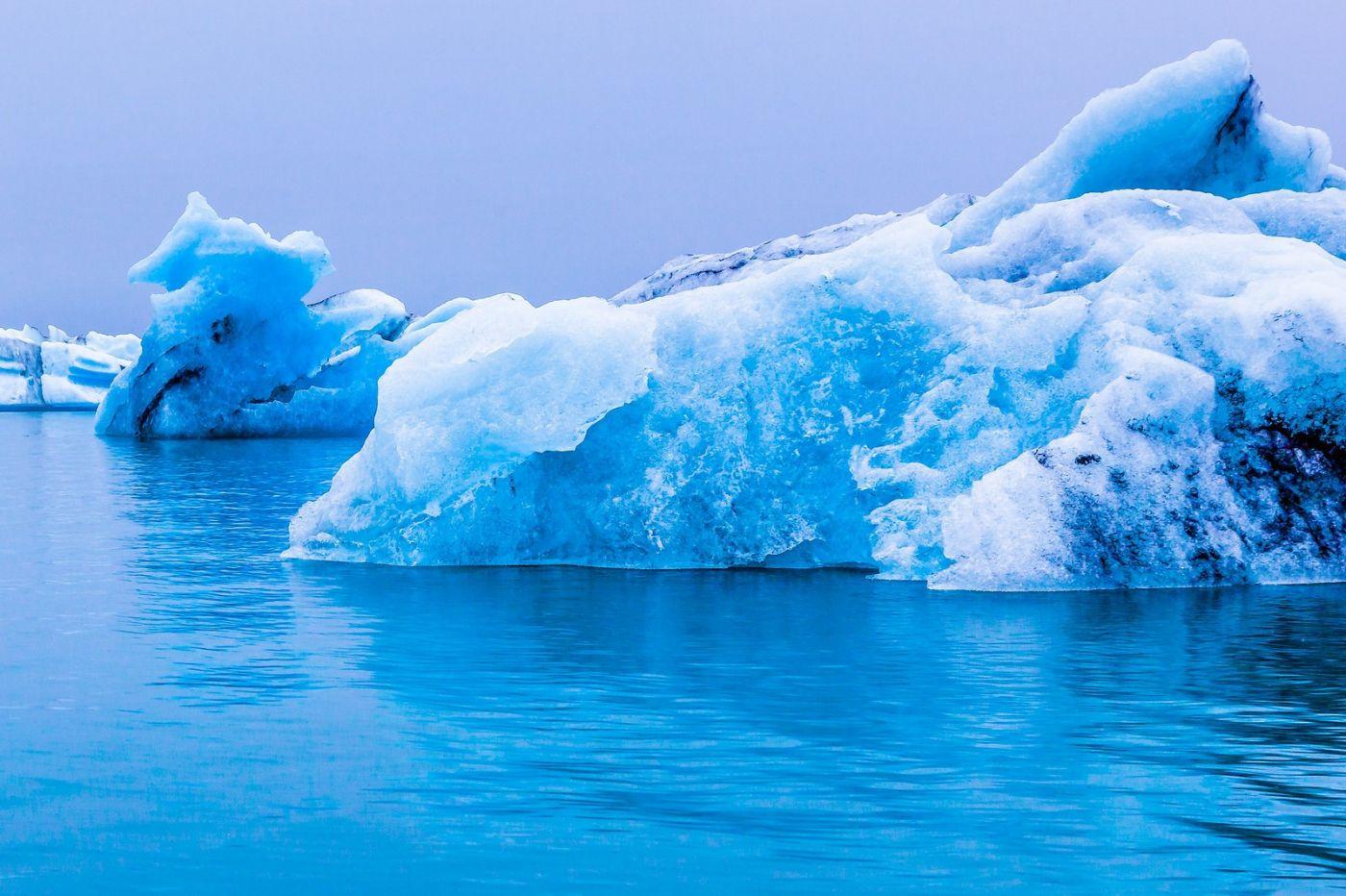 冰岛冰川泻湖(Glacier Lagoon),自然雕塑_图1-32