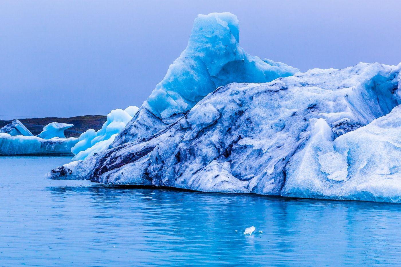 冰岛冰川泻湖(Glacier Lagoon),自然雕塑_图1-28