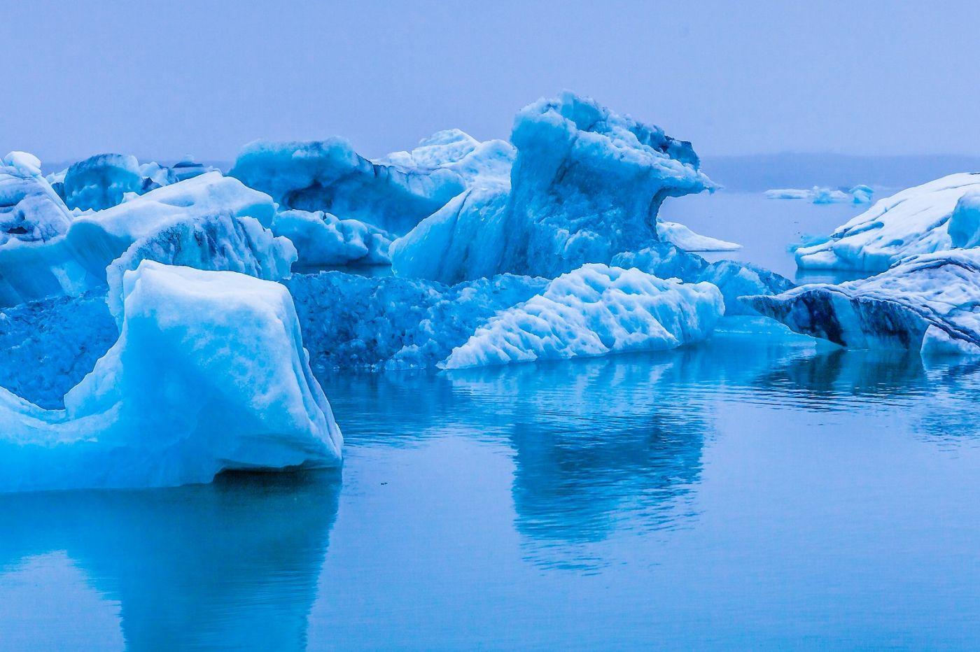 冰岛冰川泻湖(Glacier Lagoon),自然雕塑_图1-27
