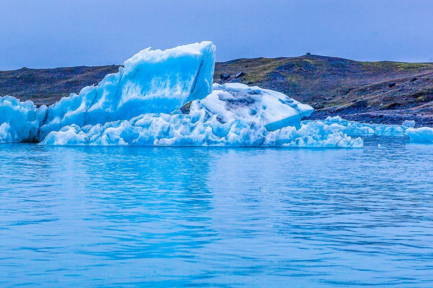 冰岛冰川泻湖(Glacier Lagoon),自然雕塑_图1-26