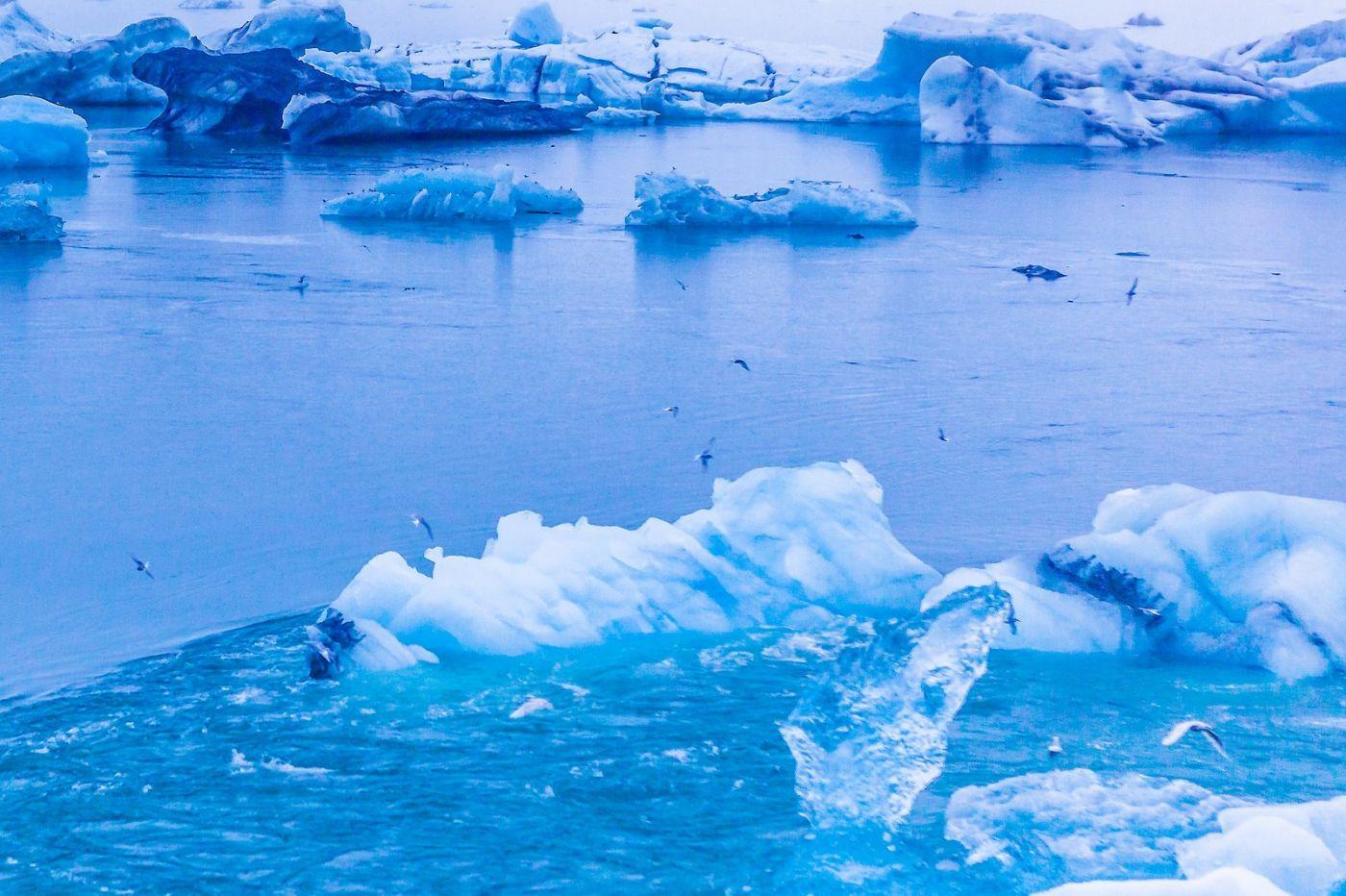冰岛冰川泻湖(Glacier Lagoon),自然雕塑_图1-21