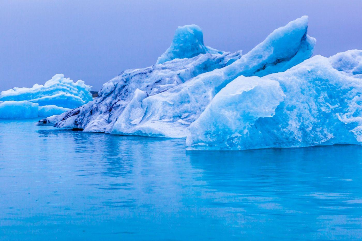 冰岛冰川泻湖(Glacier Lagoon),自然雕塑_图1-23