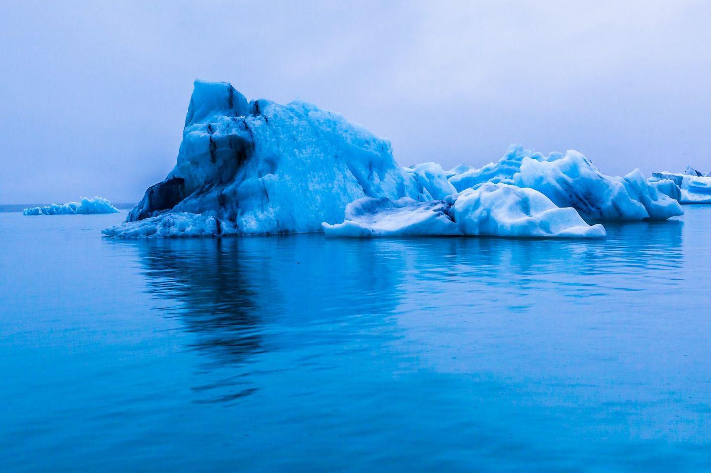 冰岛冰川泻湖(Glacier Lagoon),自然雕塑_图1-20