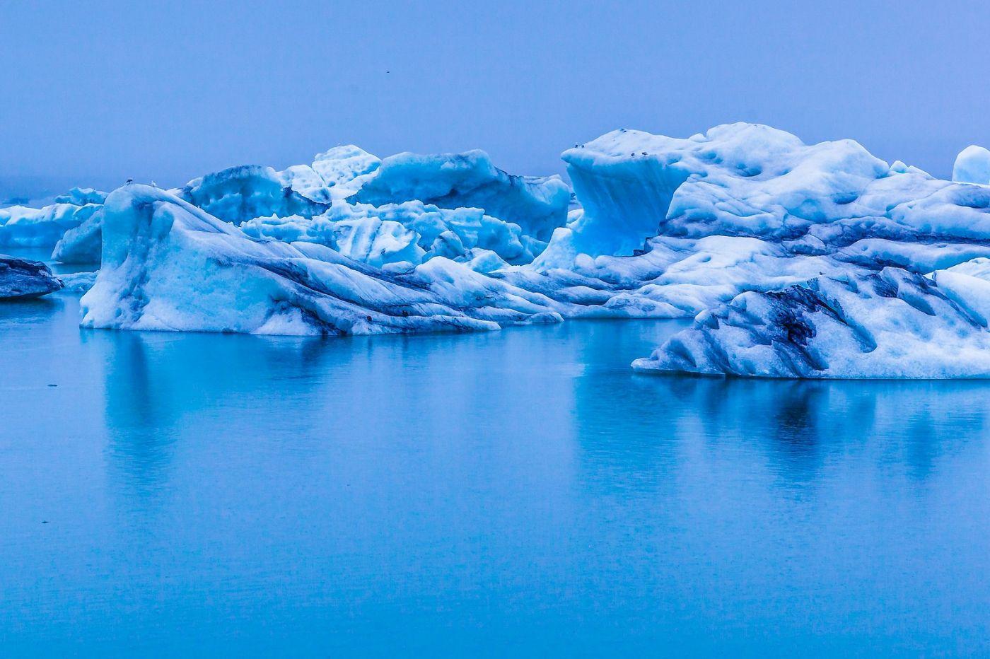 冰岛冰川泻湖(Glacier Lagoon),自然雕塑_图1-19