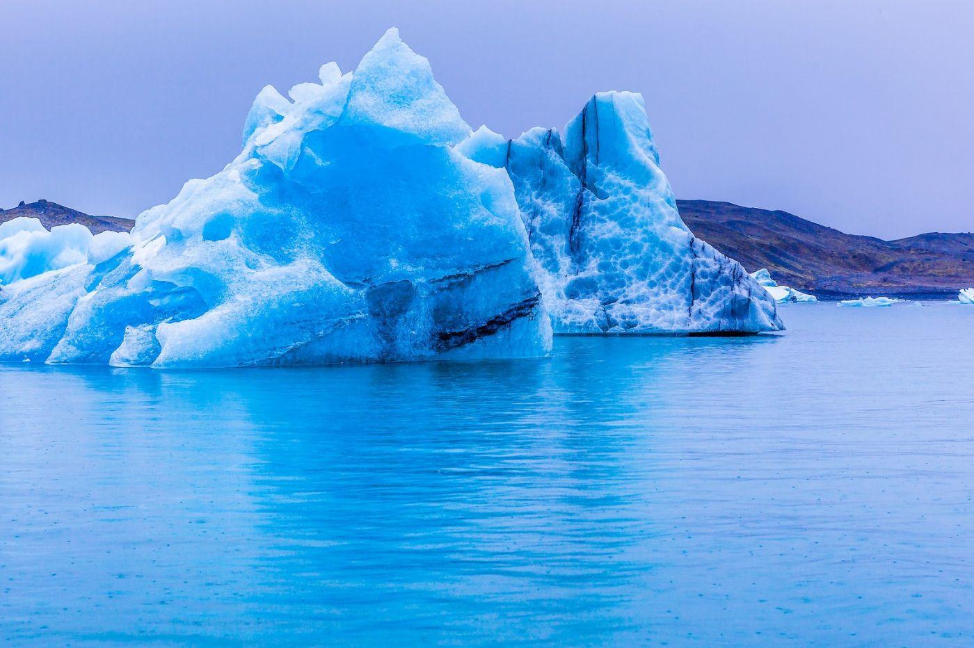 冰岛冰川泻湖(Glacier Lagoon),自然雕塑_图1-16