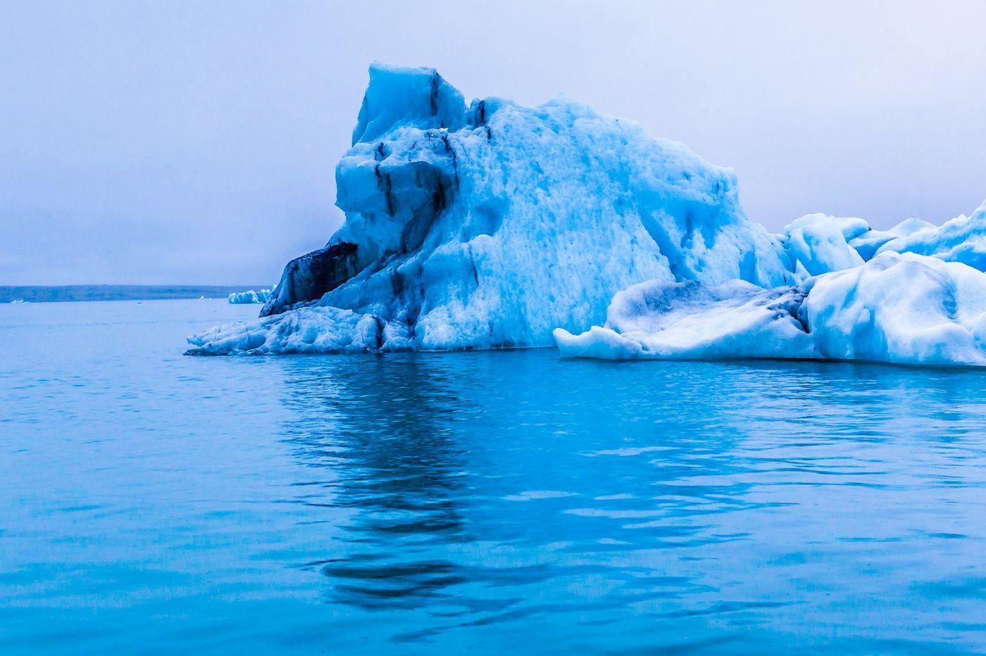 冰岛冰川泻湖(Glacier Lagoon),自然雕塑_图1-1