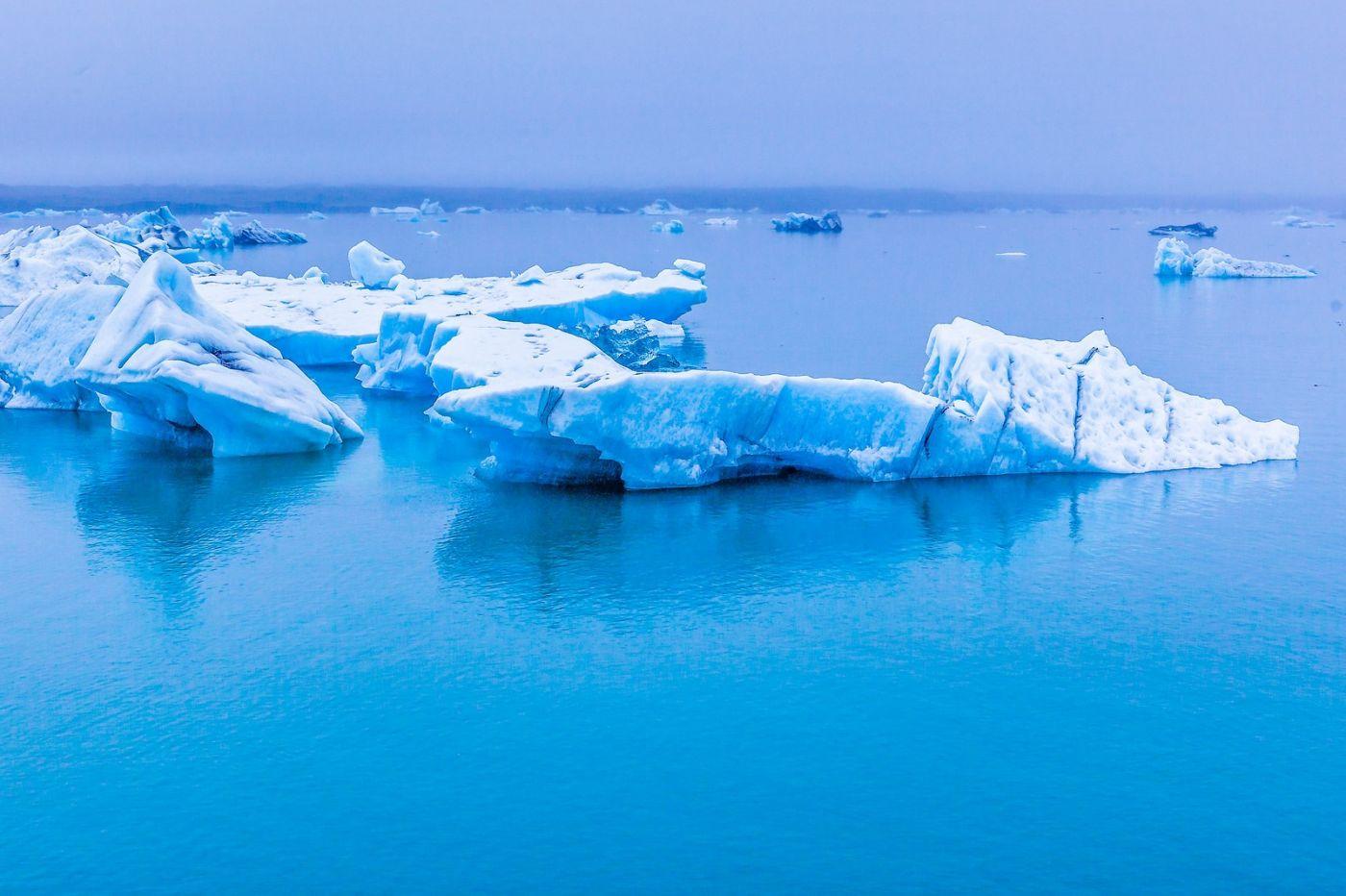 冰岛冰川泻湖(Glacier Lagoon),自然雕塑_图1-2