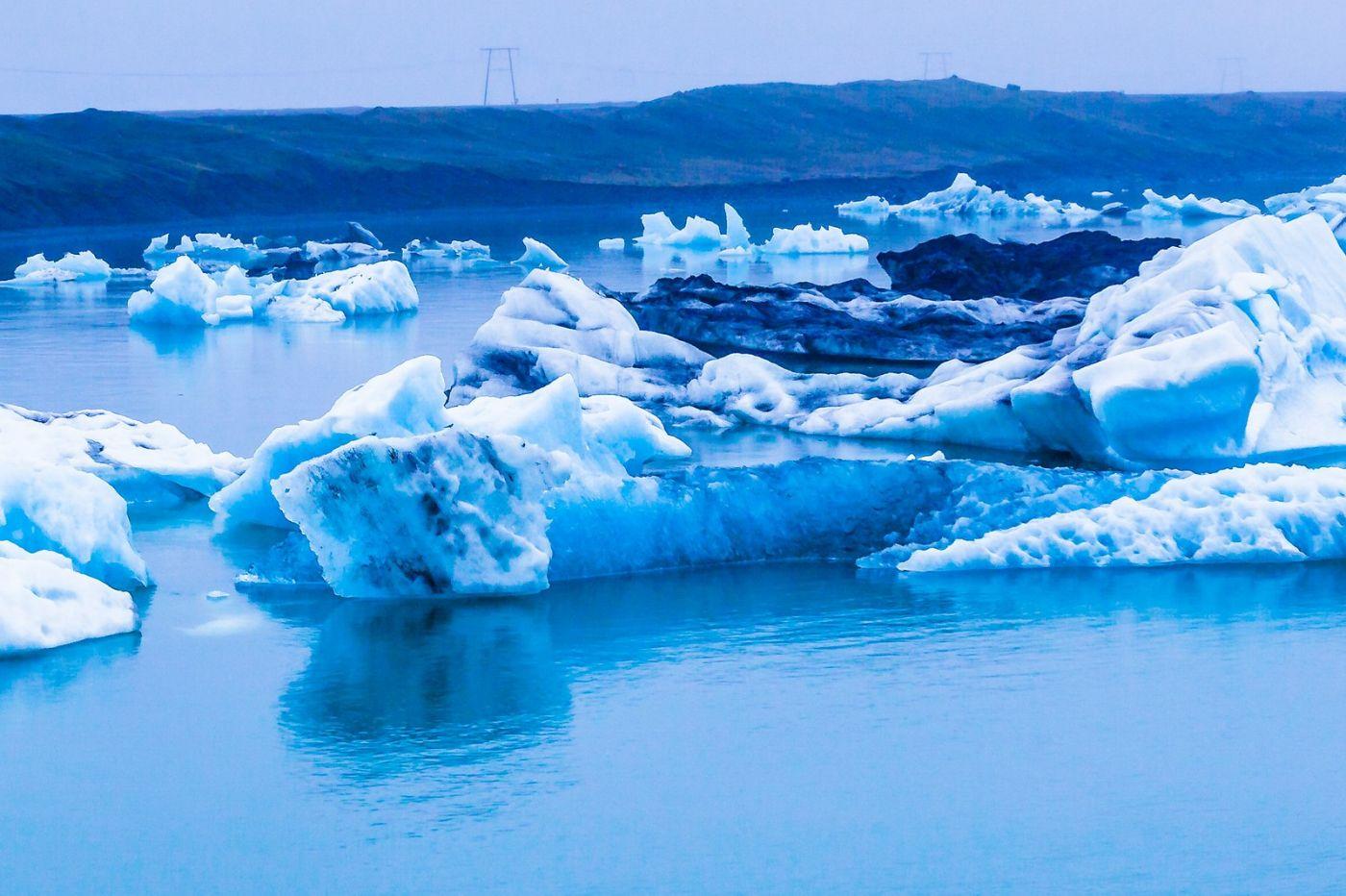 冰岛冰川泻湖(Glacier Lagoon),自然雕塑_图1-3
