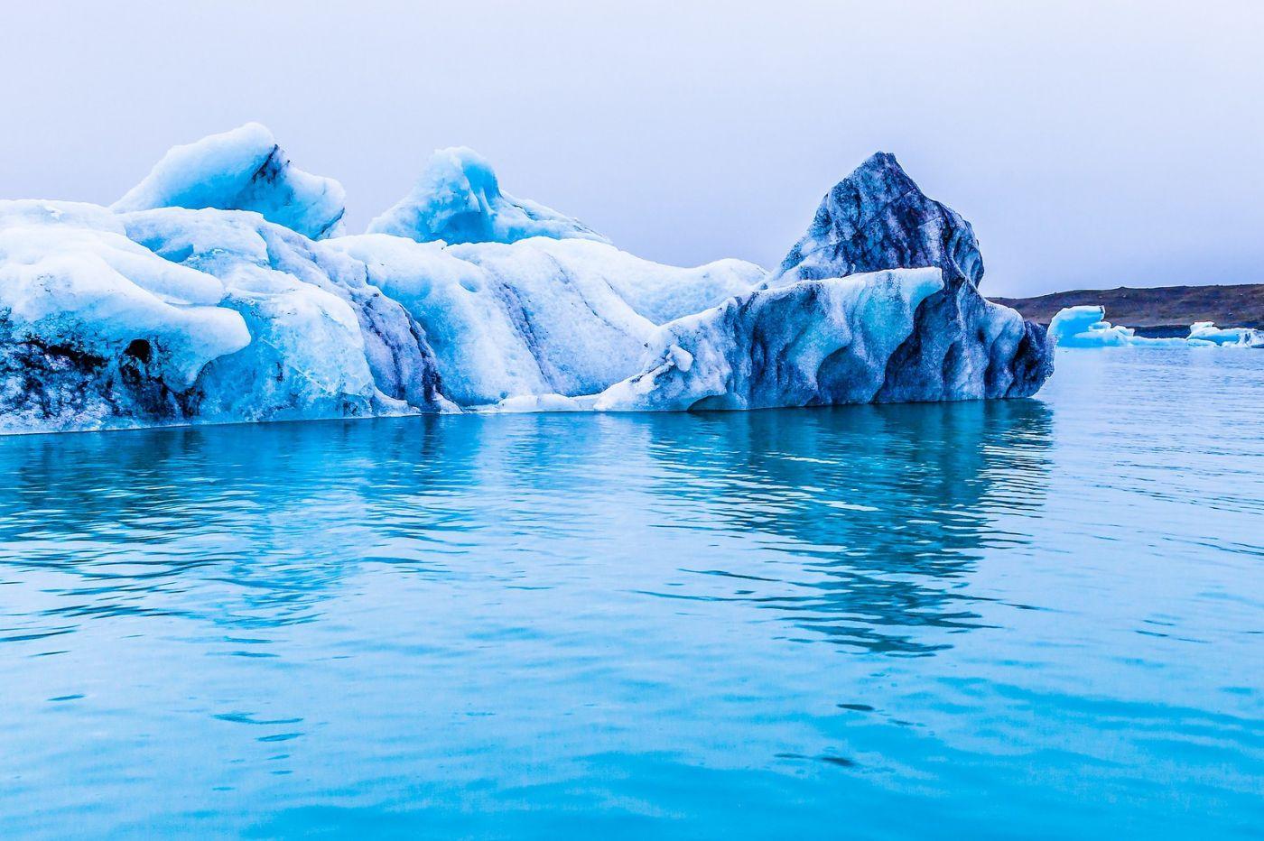 冰岛冰川泻湖(Glacier Lagoon),自然雕塑_图1-4