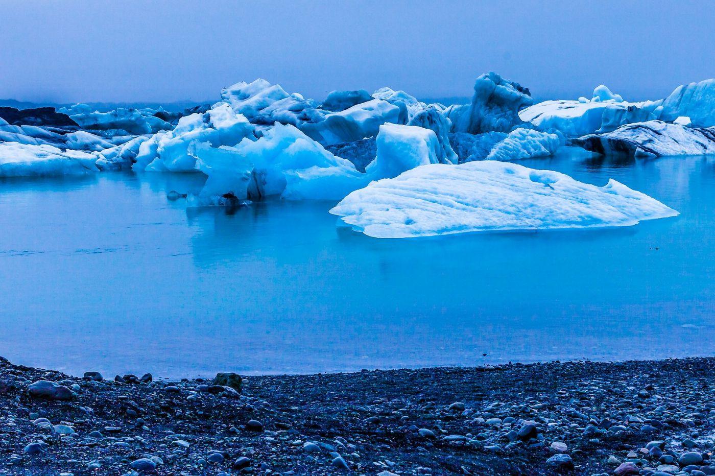 冰岛冰川泻湖(Glacier Lagoon),自然雕塑_图1-5