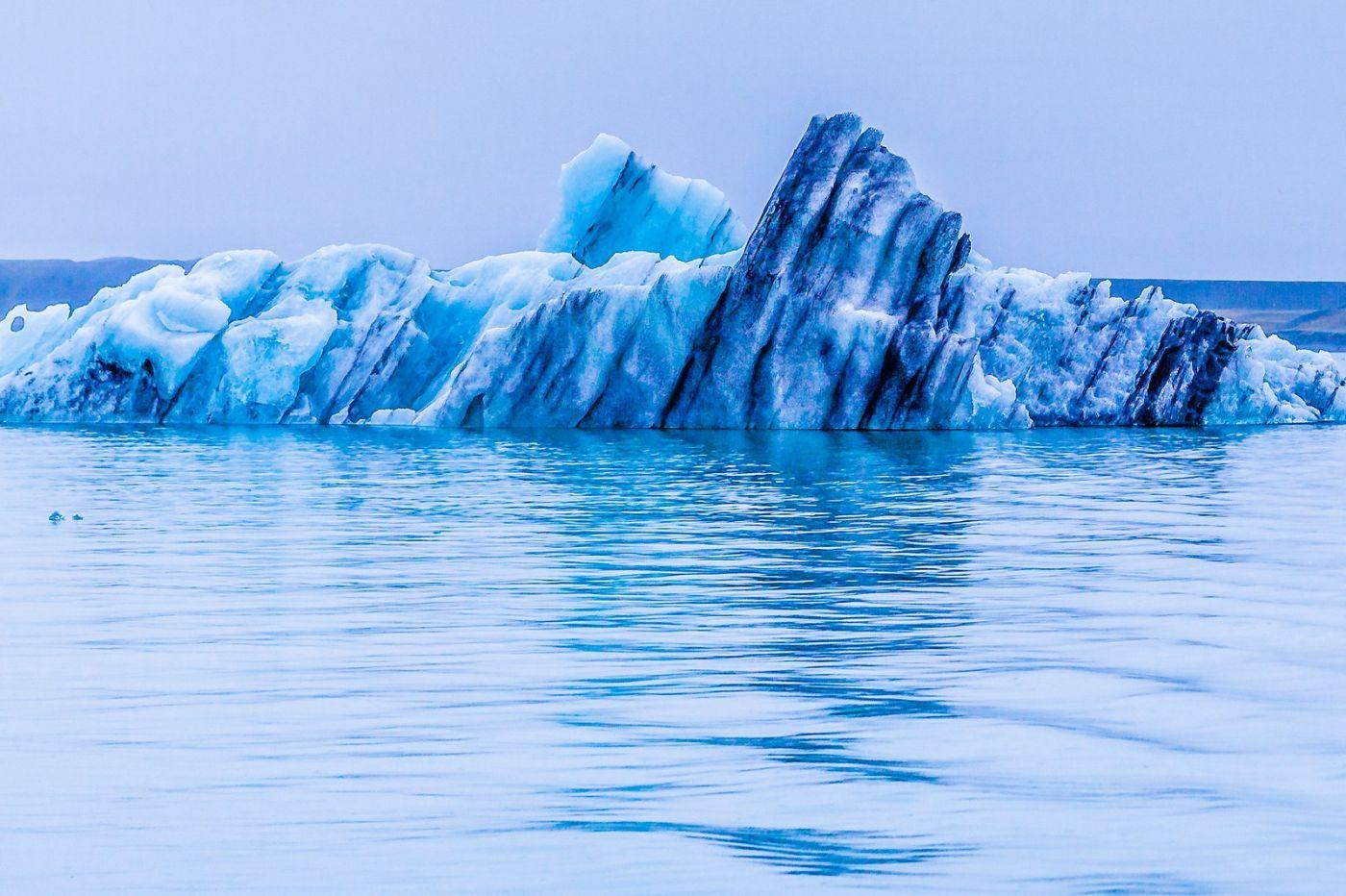 冰岛冰川泻湖(Glacier Lagoon),自然雕塑_图1-6