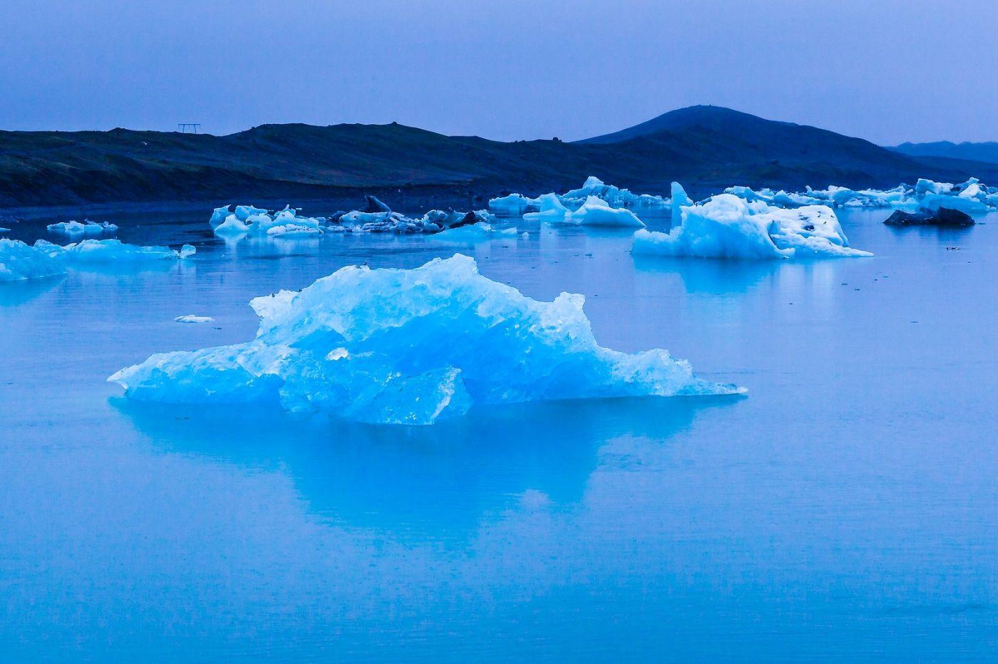 冰岛冰川泻湖(Glacier Lagoon),自然雕塑_图1-7