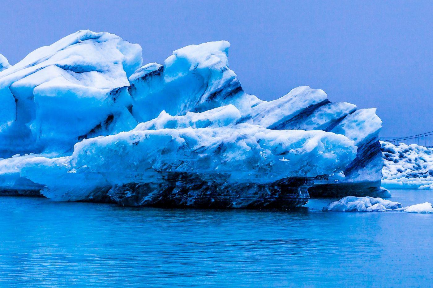 冰岛冰川泻湖(Glacier Lagoon),自然雕塑_图1-12