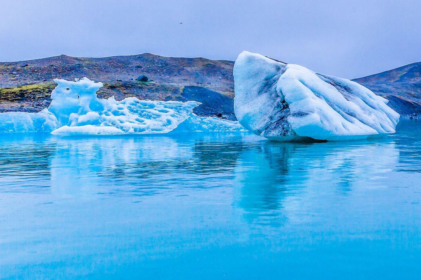 冰岛冰川泻湖(Glacier Lagoon),自然雕塑_图1-10