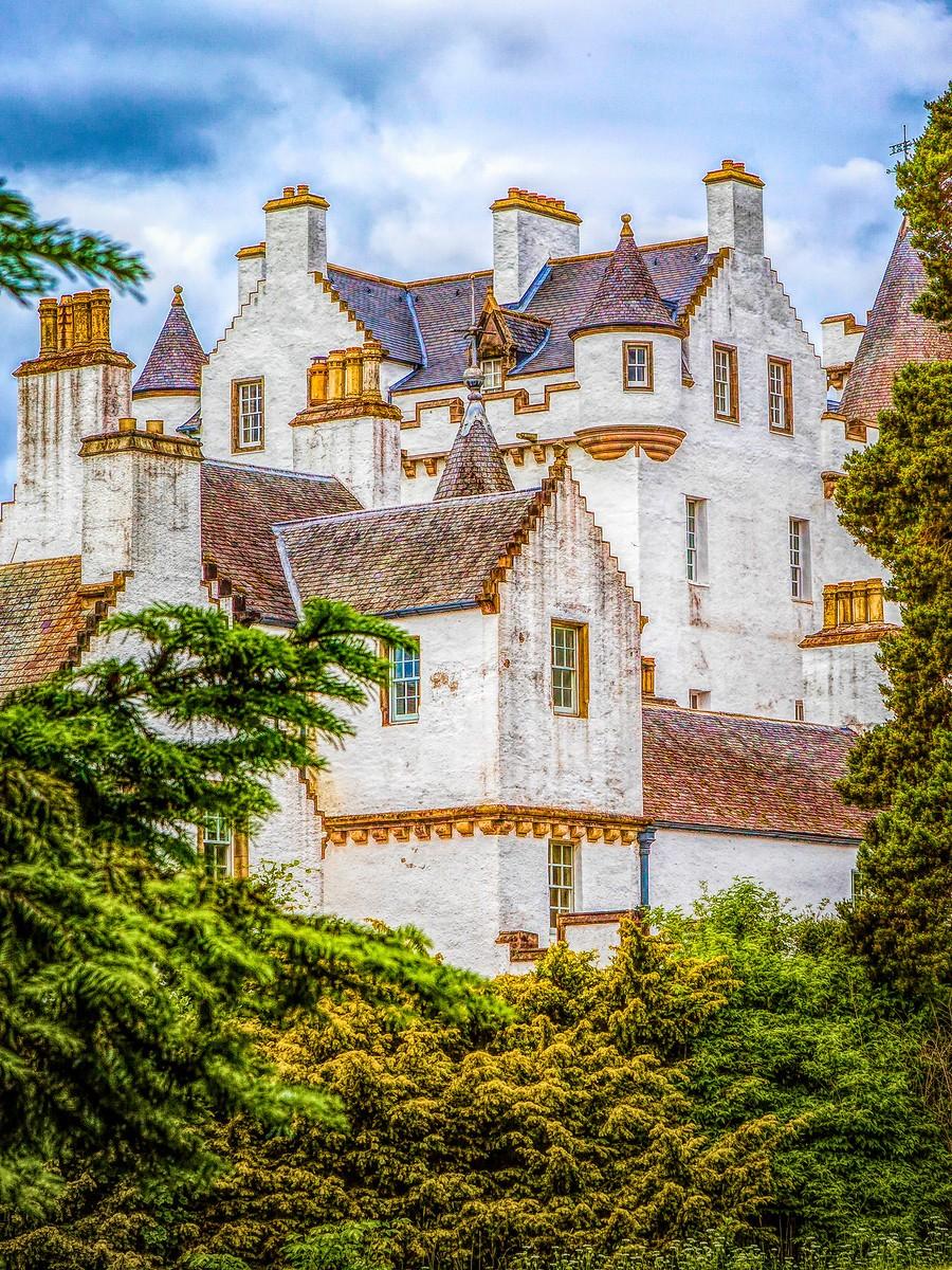 苏格兰布莱尔城堡(Blair Castle),13世纪的建筑_图1-1