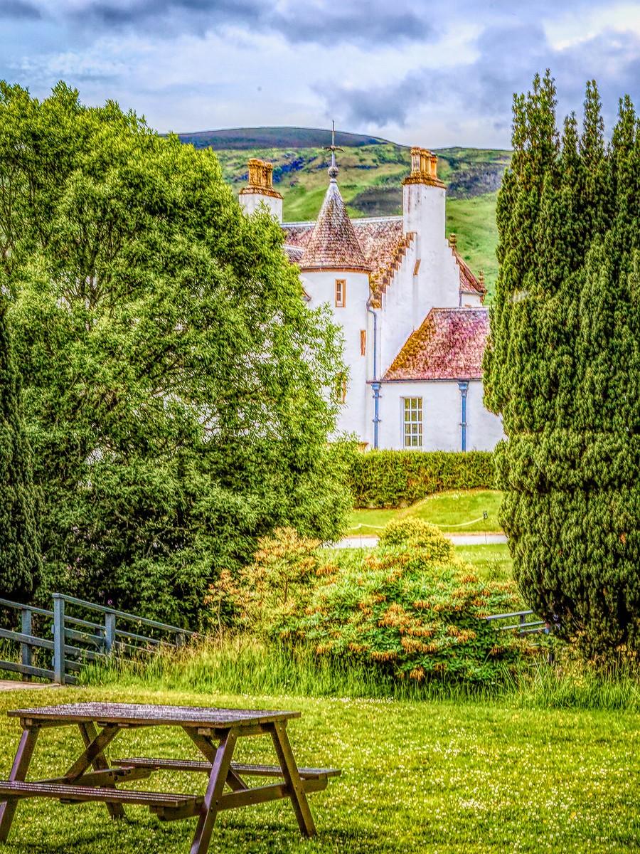 苏格兰布莱尔城堡(Blair Castle),13世纪的建筑_图1-6