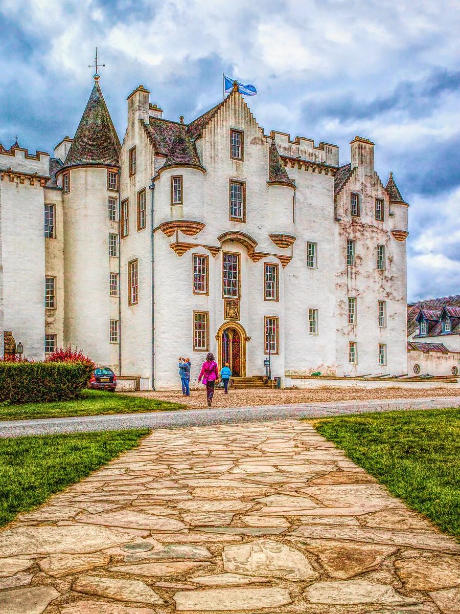 苏格兰布莱尔城堡(Blair Castle),13世纪的建筑_图1-9