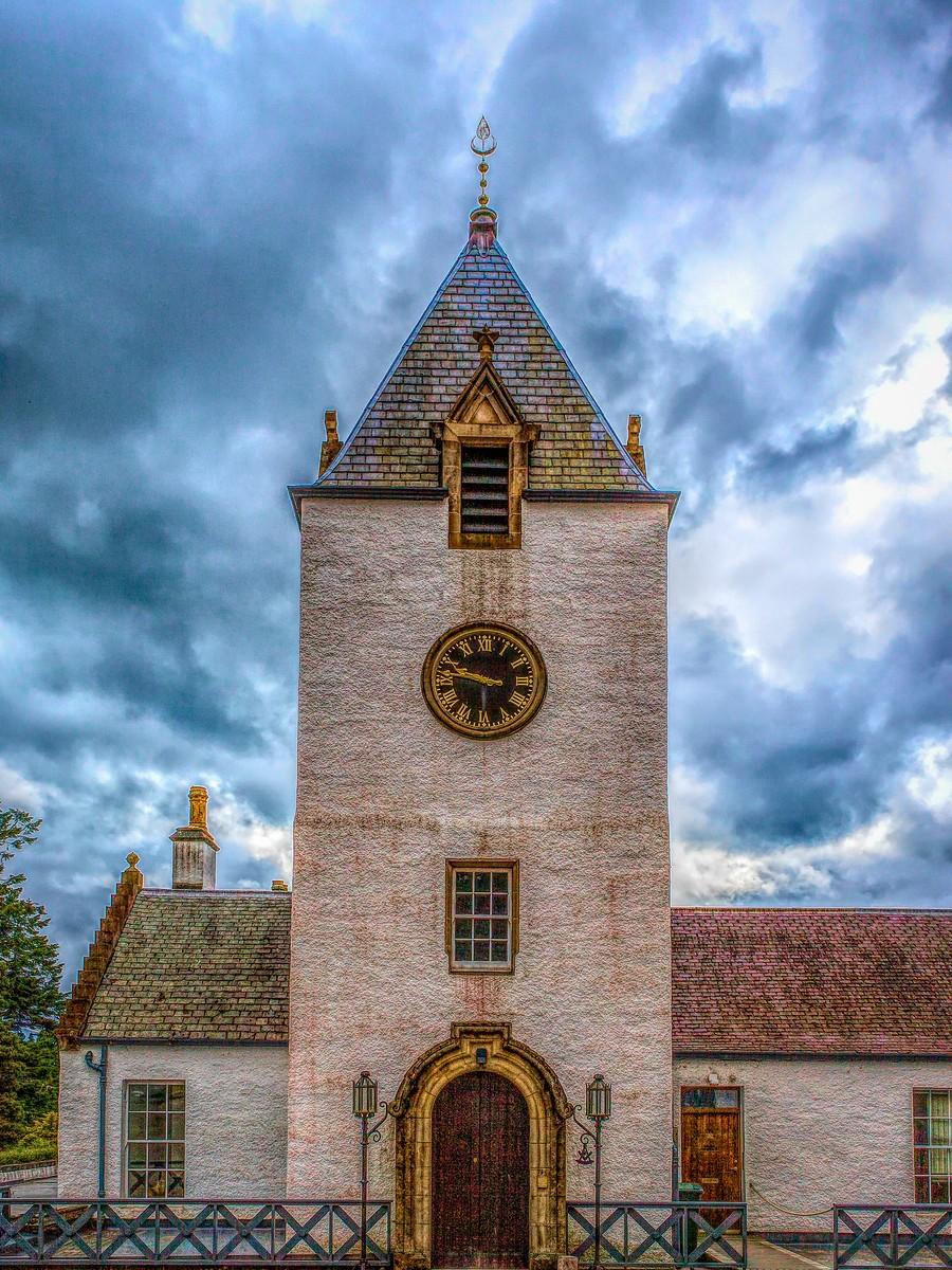 苏格兰布莱尔城堡(Blair Castle),13世纪的建筑_图1-3