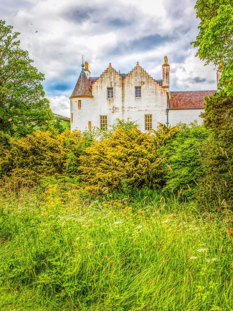 苏格兰布莱尔城堡(Blair Castle),13世纪的建筑_图1-11