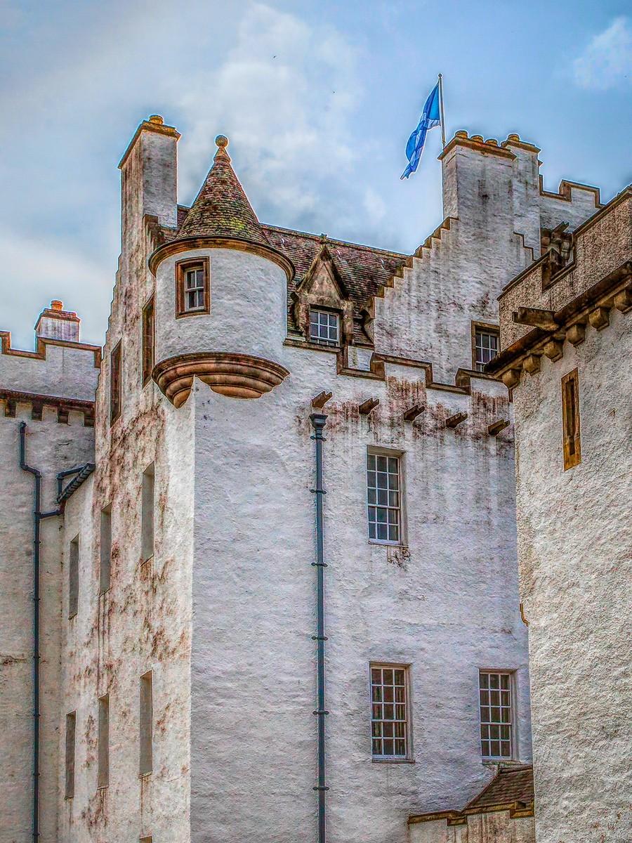 苏格兰布莱尔城堡(Blair Castle),13世纪的建筑_图1-12