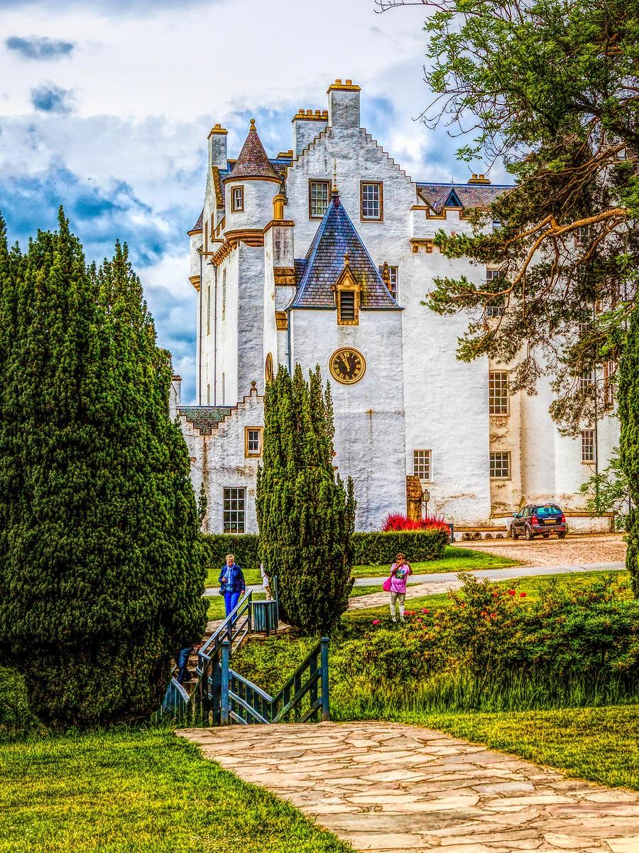 苏格兰布莱尔城堡(Blair Castle),13世纪的建筑_图1-15