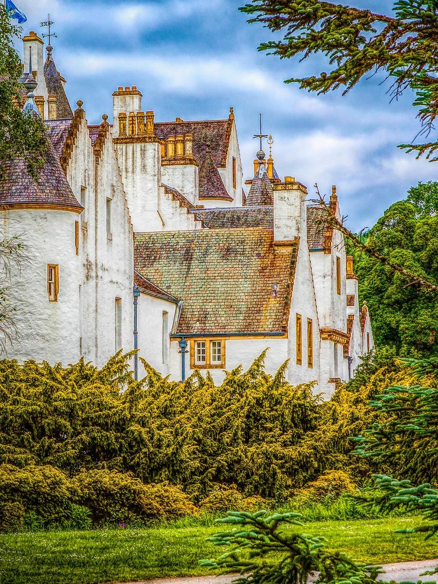 苏格兰布莱尔城堡(Blair Castle),13世纪的建筑_图1-16