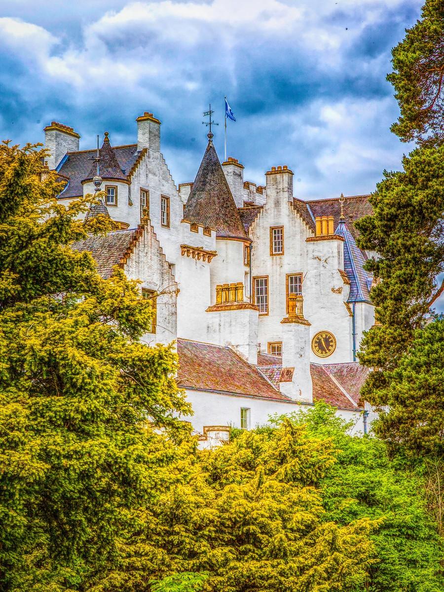 苏格兰布莱尔城堡(Blair Castle),13世纪的建筑_图1-13