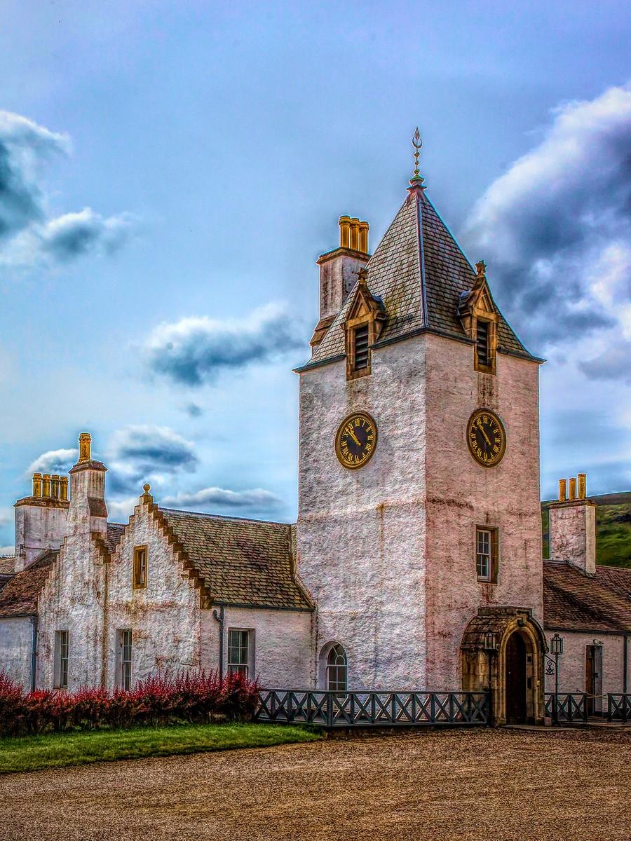 苏格兰布莱尔城堡(Blair Castle),13世纪的建筑_图1-20