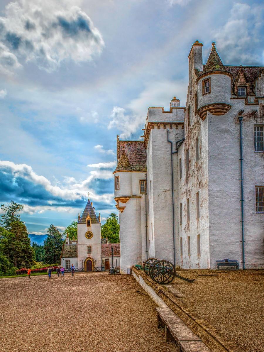苏格兰布莱尔城堡(Blair Castle),13世纪的建筑_图1-19