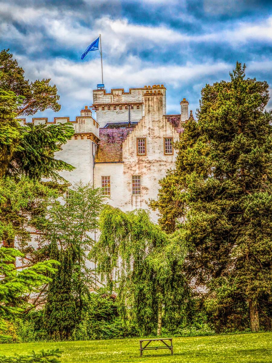 苏格兰布莱尔城堡(Blair Castle),13世纪的建筑_图1-21