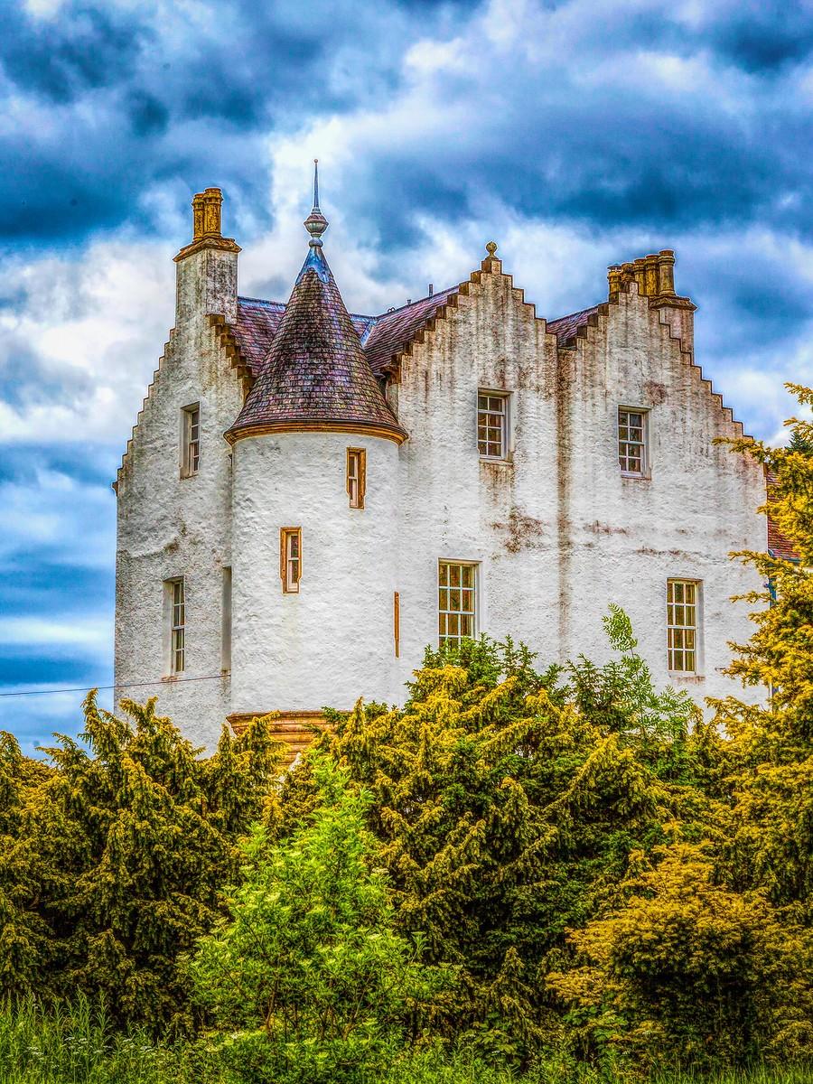 甦格蘭布萊爾城堡(Blair Castle),13世紀的建築_圖1-27