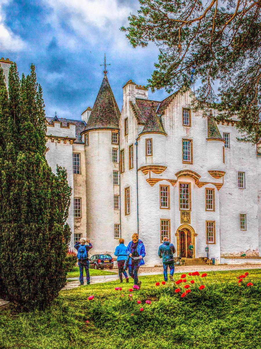 甦格蘭布萊爾城堡(Blair Castle),13世紀的建築_圖1-22