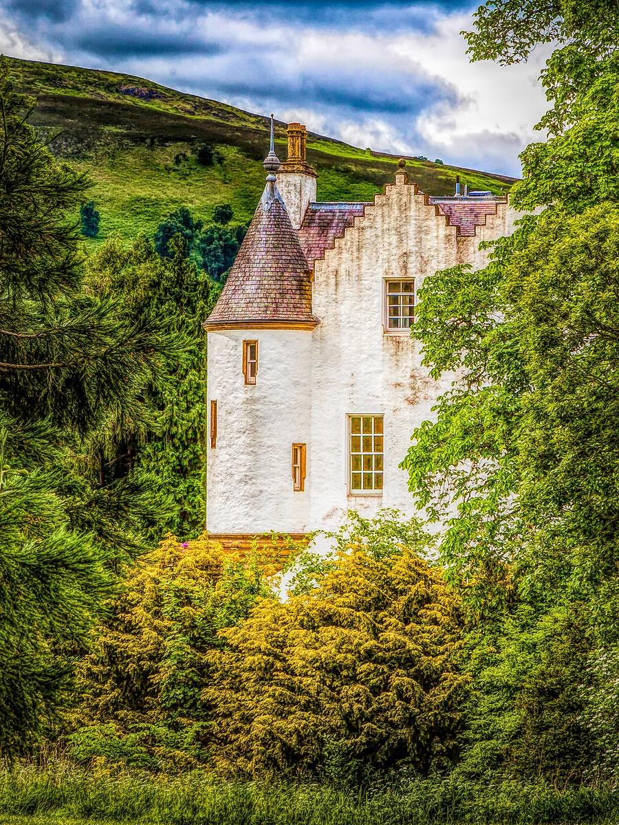 苏格兰布莱尔城堡(Blair Castle),13世纪的建筑_图1-25
