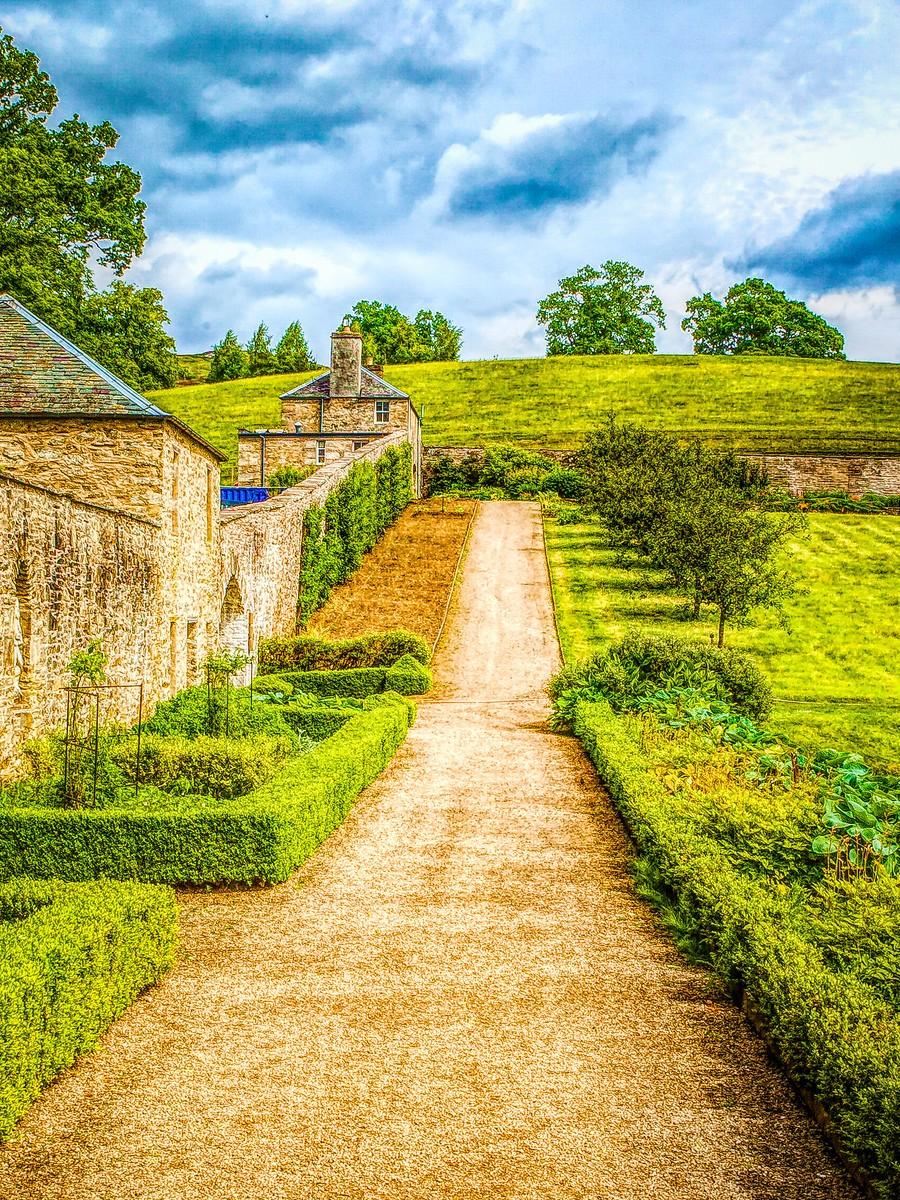 苏格兰布莱尔城堡(Blair Castle),13世纪的建筑_图1-23