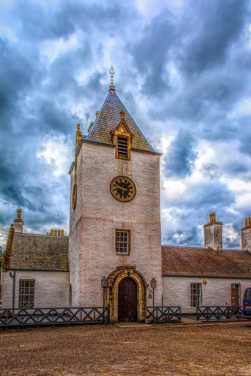 苏格兰布莱尔城堡(Blair Castle),13世纪的建筑_图1-29