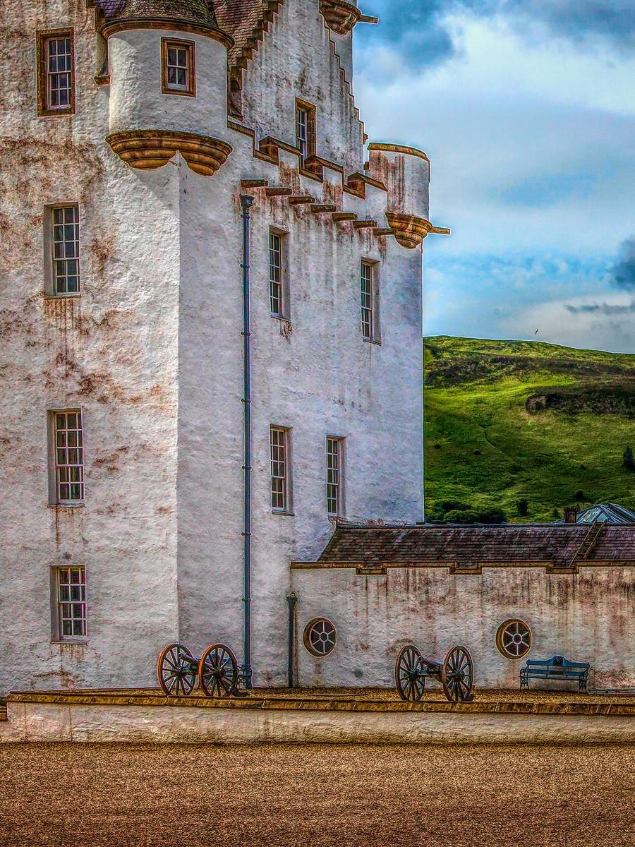 苏格兰布莱尔城堡(Blair Castle),13世纪的建筑_图1-32