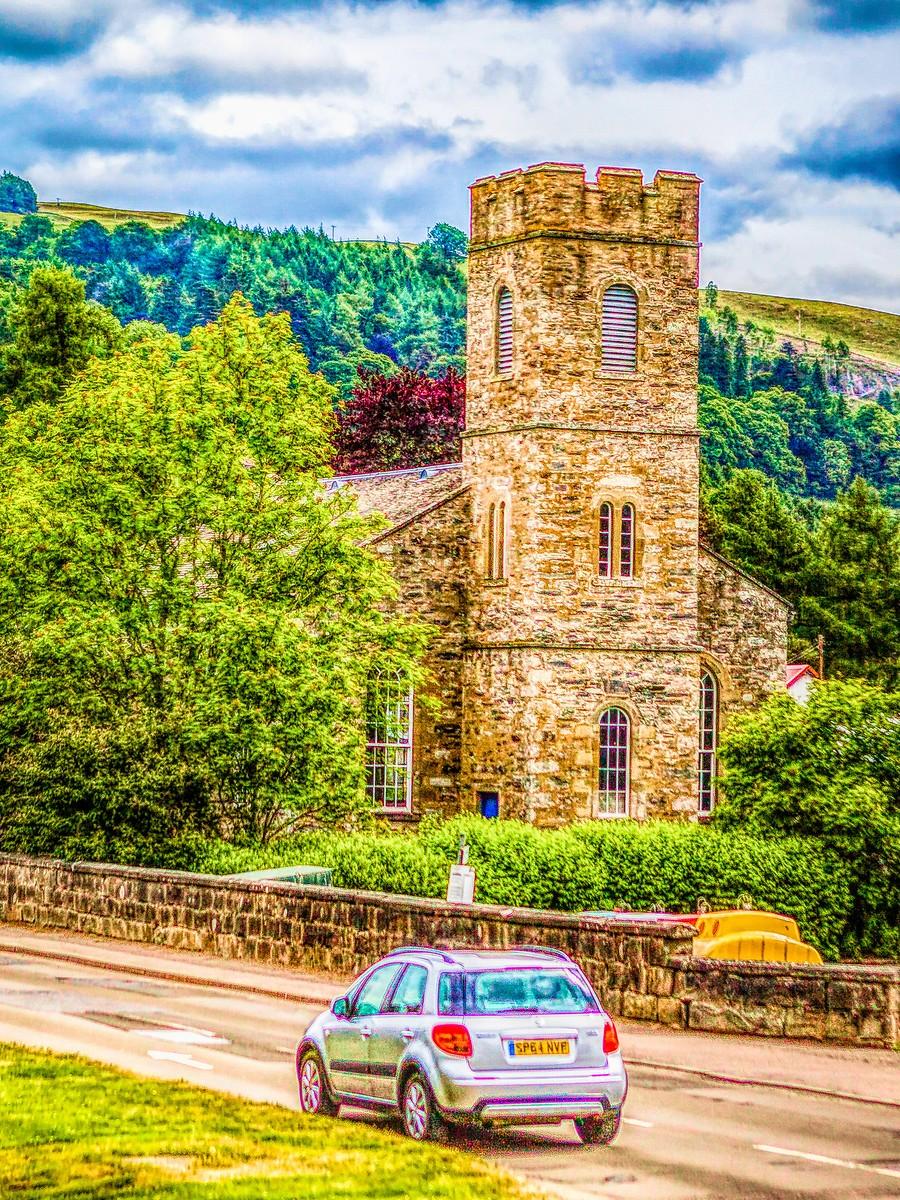 苏格兰布莱尔城堡(Blair Castle),13世纪的建筑_图1-31