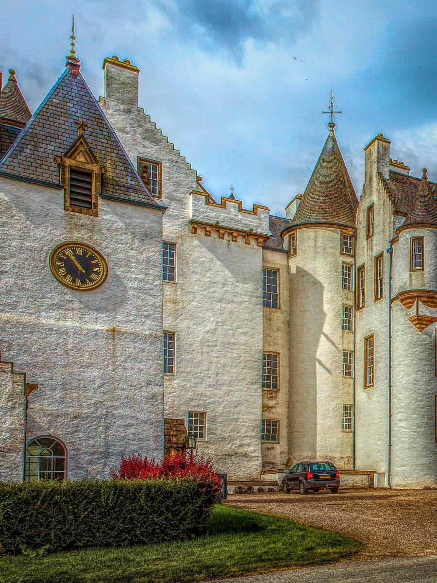 苏格兰布莱尔城堡(Blair Castle),13世纪的建筑_图1-39