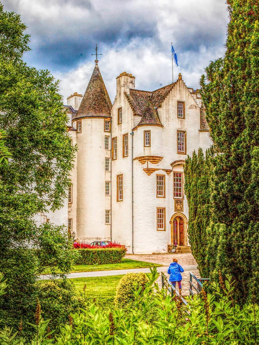 苏格兰布莱尔城堡(Blair Castle),13世纪的建筑_图1-38