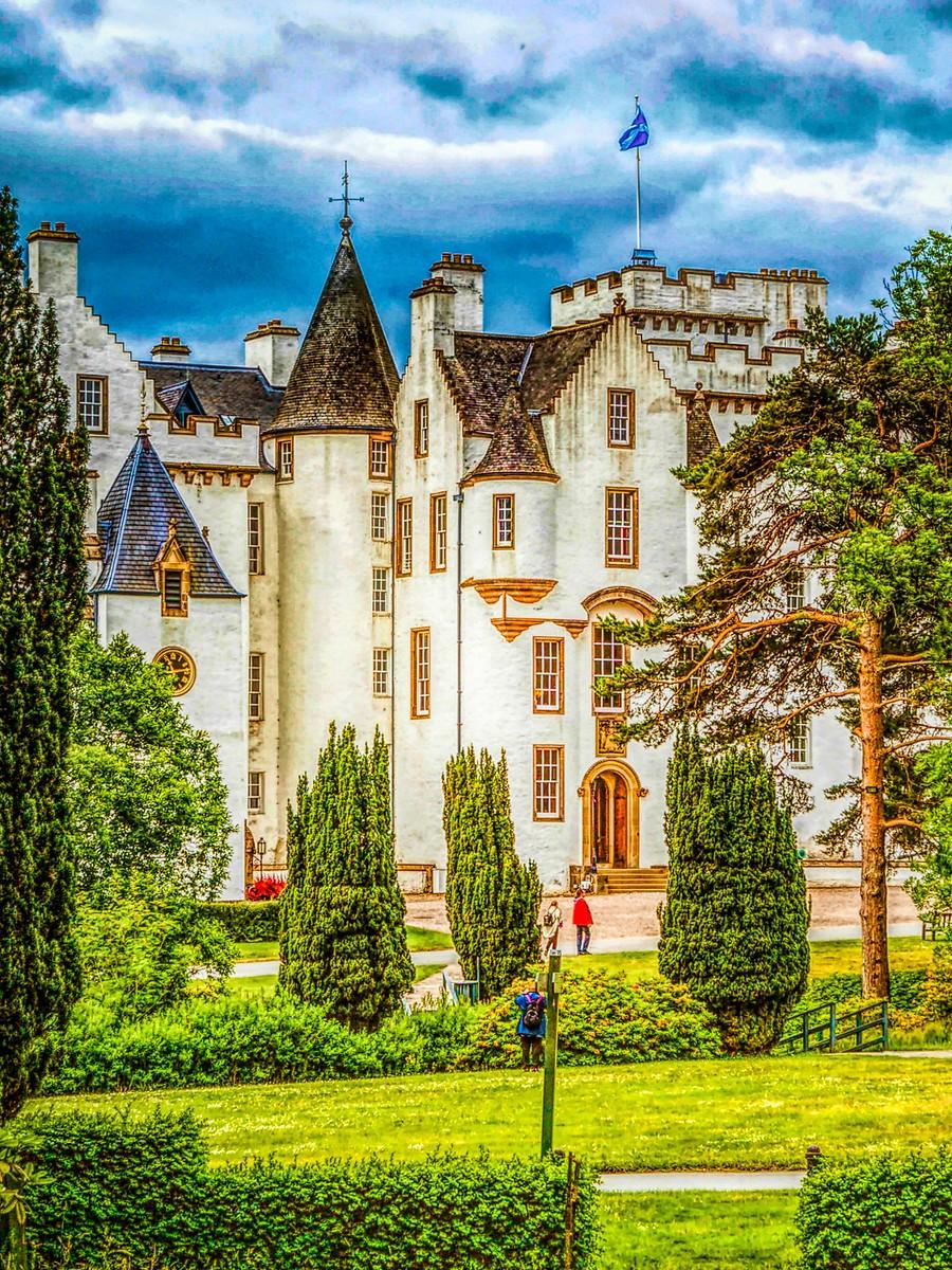 苏格兰布莱尔城堡(Blair Castle),13世纪的建筑_图1-34