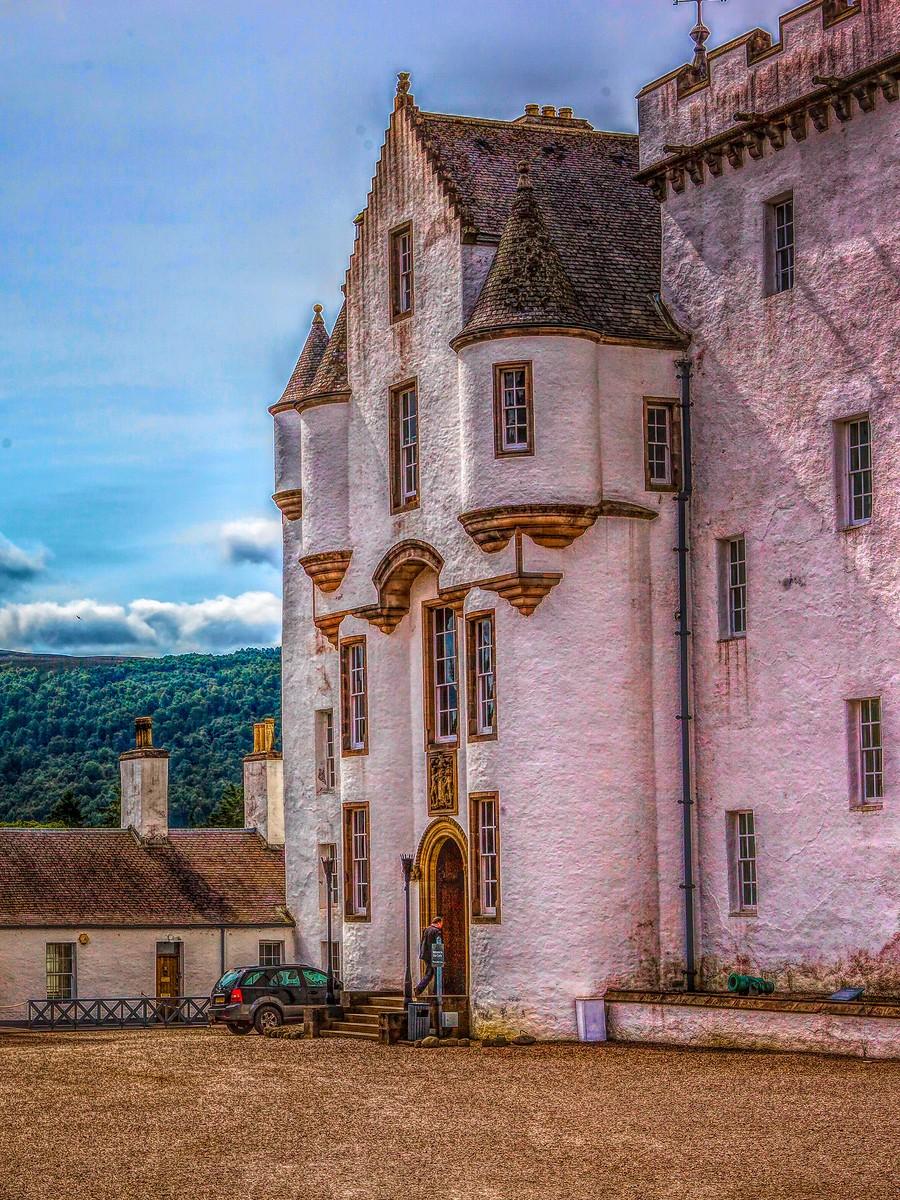 苏格兰布莱尔城堡(Blair Castle),13世纪的建筑_图1-40
