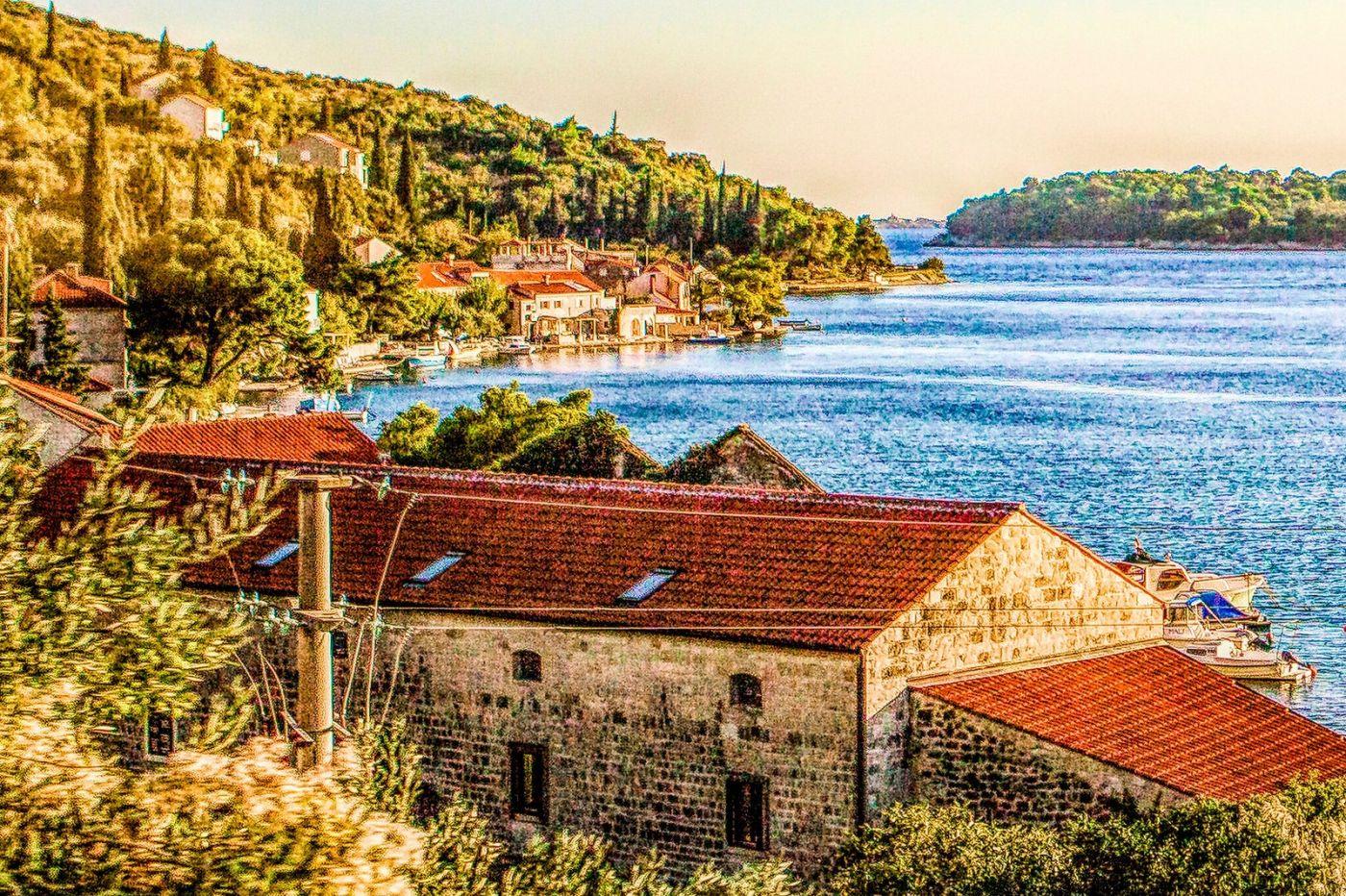克羅地亞旅途,遠處的海灣_圖1-38