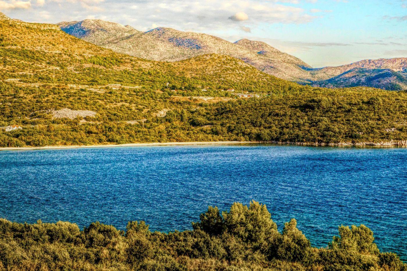克羅地亞旅途,遠處的海灣_圖1-37