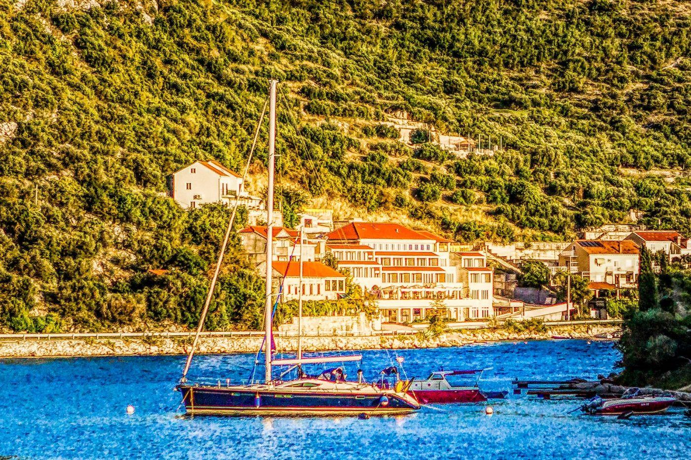 克羅地亞旅途,遠處的海灣_圖1-39