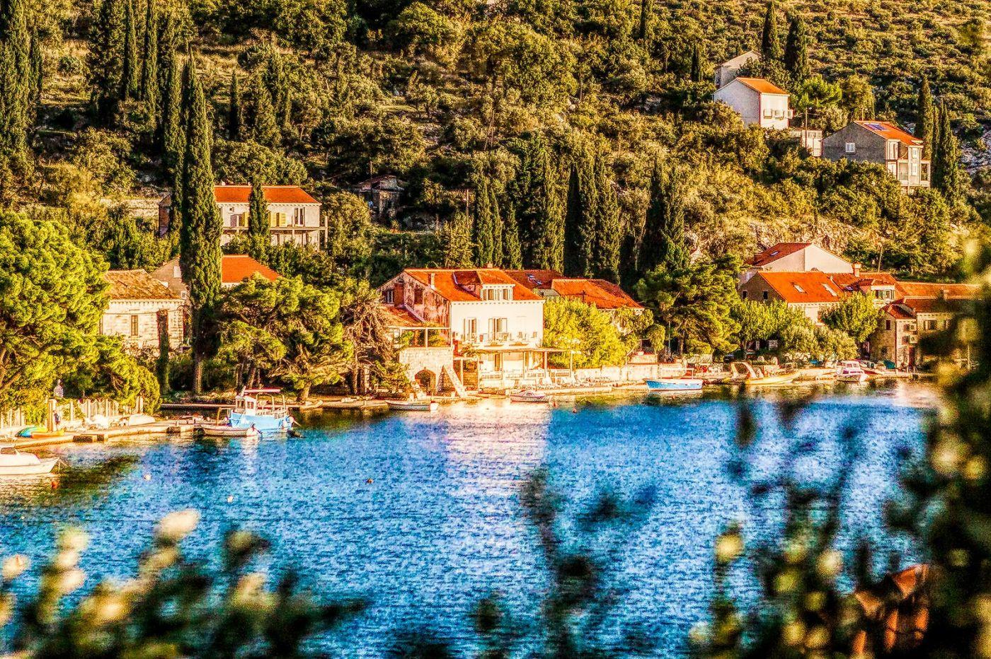 克羅地亞旅途,遠處的海灣_圖1-36