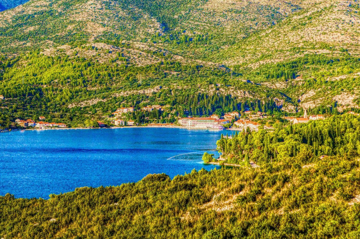 克羅地亞旅途,遠處的海灣_圖1-33